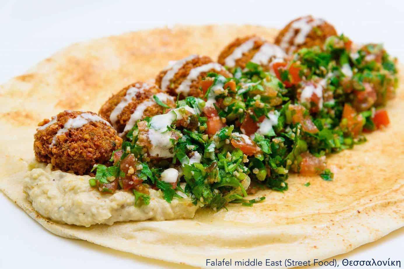 7 Vegan Delivery | Εστιατόρια, Θεσσαλονίκη Falafel middle east #veganrestaurants #greekvegan maninio.com