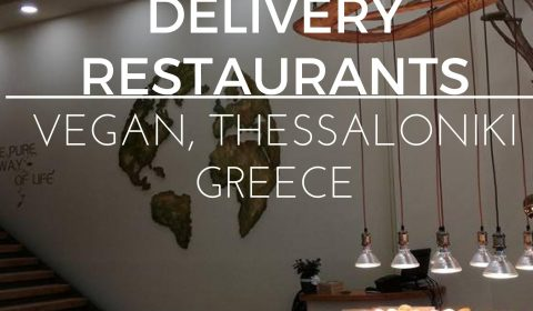 Vegan Delivery restaurants Thessaloniki, maninio.com, #vegandelivery #veganpizzas Greece