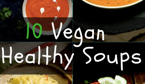 10 best Healthy vegan soups. maninio.com #wintersoups #veganhealthysoups
