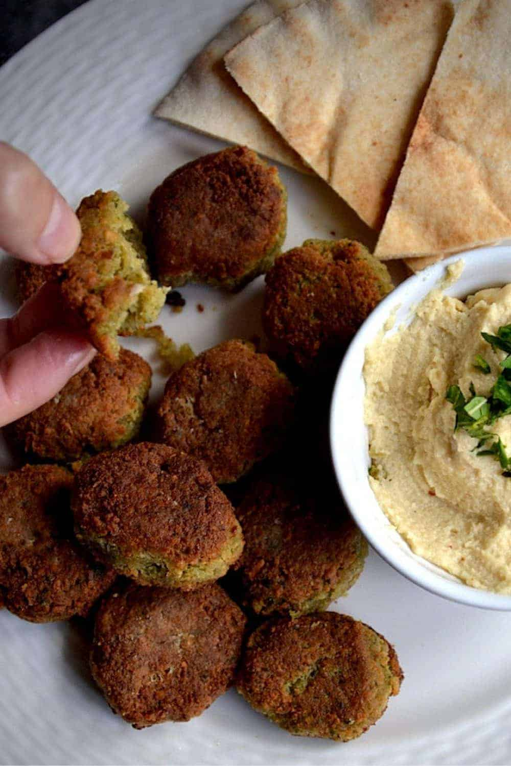 The best Original Falafel with Chickpeas | Middle East, Vegan and GF