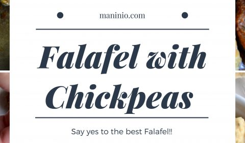 The best Original Falafel with Chickpeas | Middle East. maninio.com #chickpeasfalafel #arabicfalafe