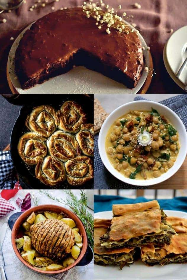Best 20+ Christmas Menu Ideas | Lunch and Dinner | Vegan. salads, main dish, appetisers, desserts. maninio.com