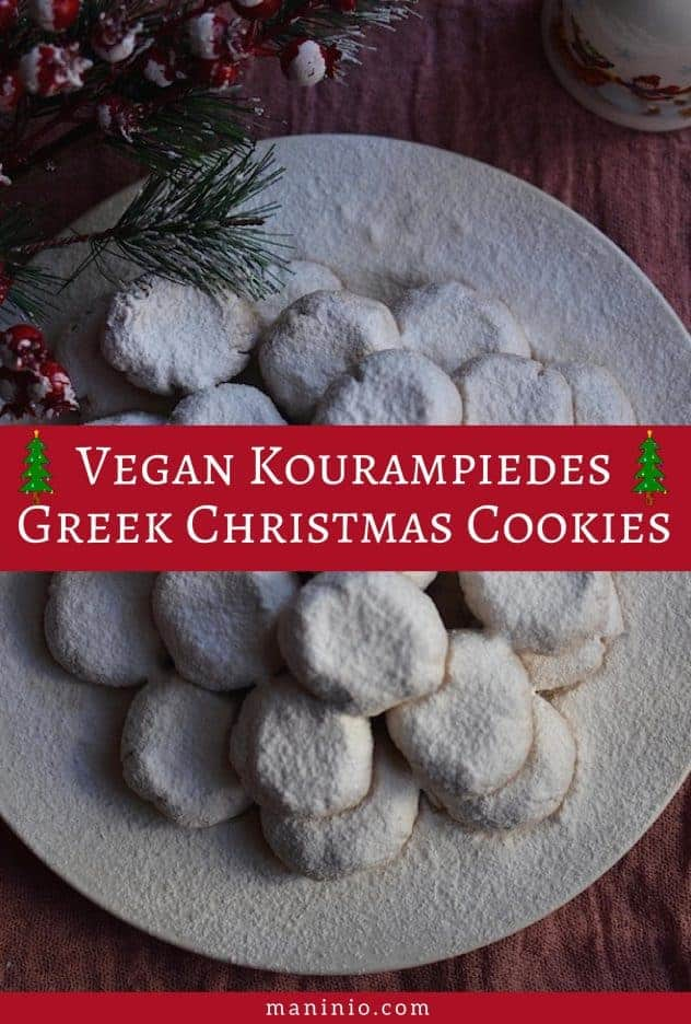 vegan greek cookies