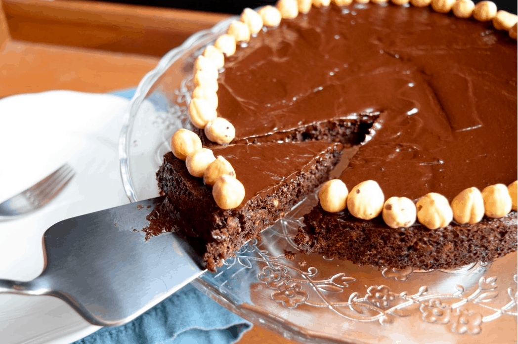 Chocolate Hazelnut Tarte