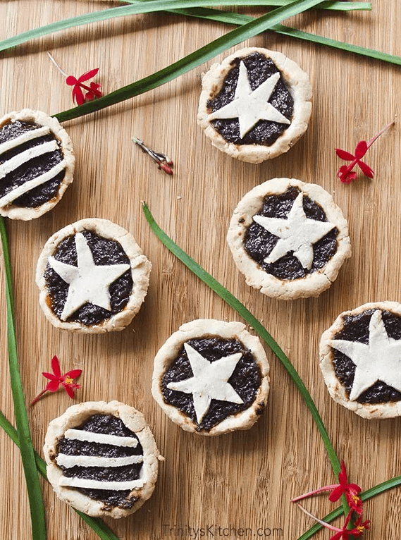 "Gluten Free Vegan English ""Sweet Mince pies"" for Christmas"