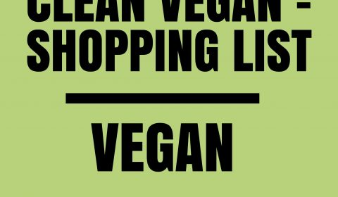 How to organize your pantry as a clean Vegan | Shopping List. maninio.com #cleanveganpantry #veganpantry