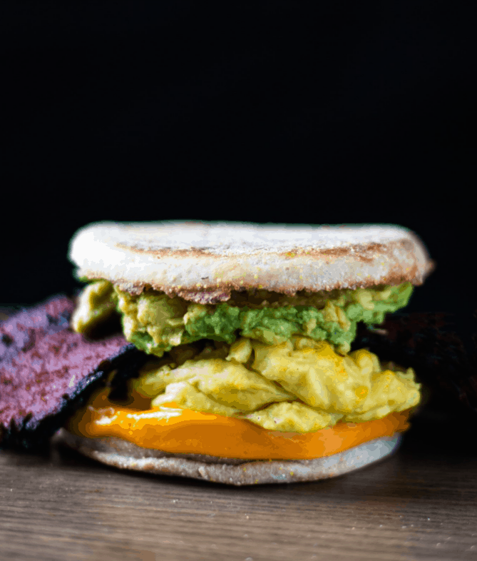 Bodega Breakfast Avocado Sandwich