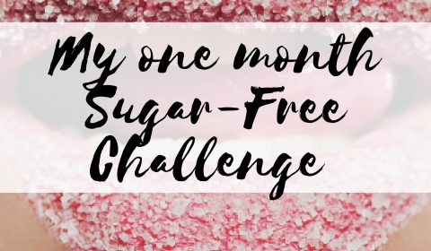 pinterest graphic, sugar-free challenge