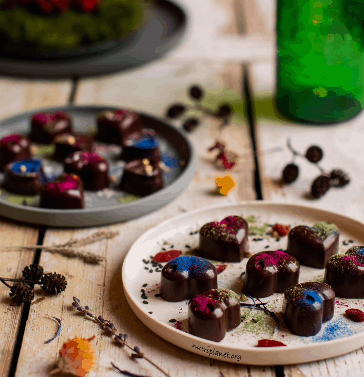 Raw Superfood Chocolate Candies