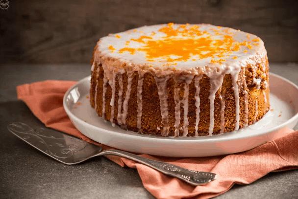 Νηστίσιμο κέικ με ταχίνι με πορτοκάλι. 25+ Vegan Προτάσεις φαγητού για το Πάσχα. maninio.com