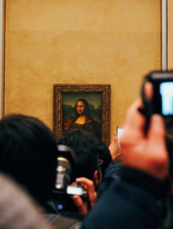 Mona Lisa portrait