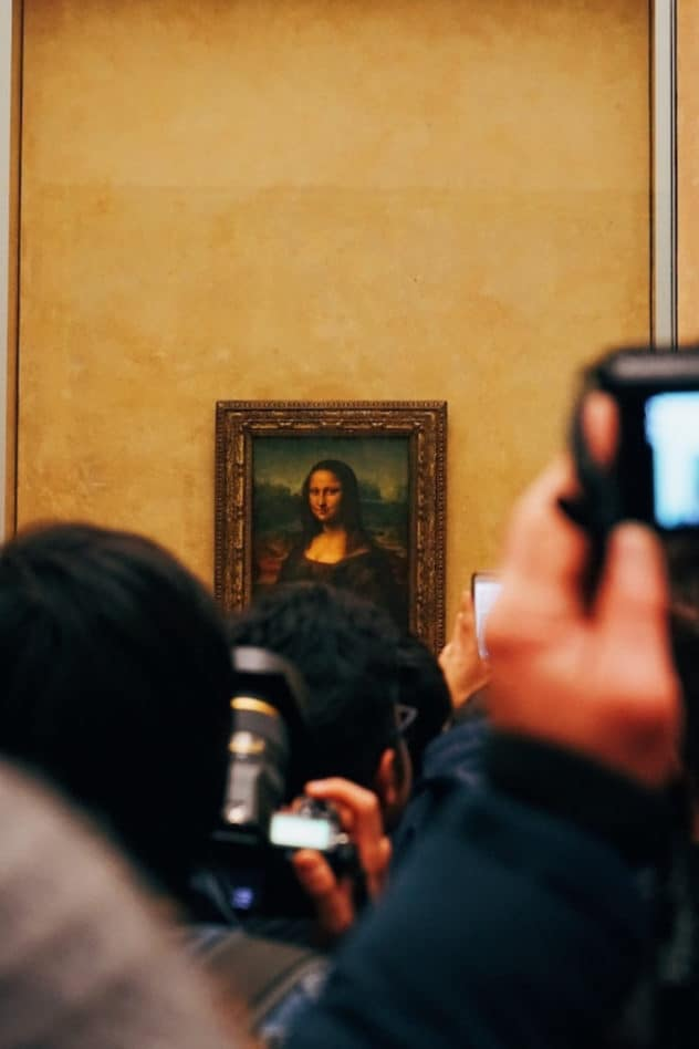Mona Lisa portrait