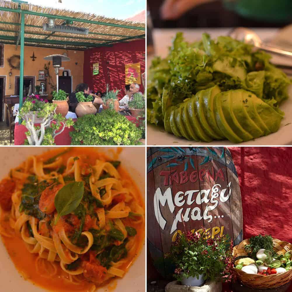 Metaxi mas restaurant - santorini
