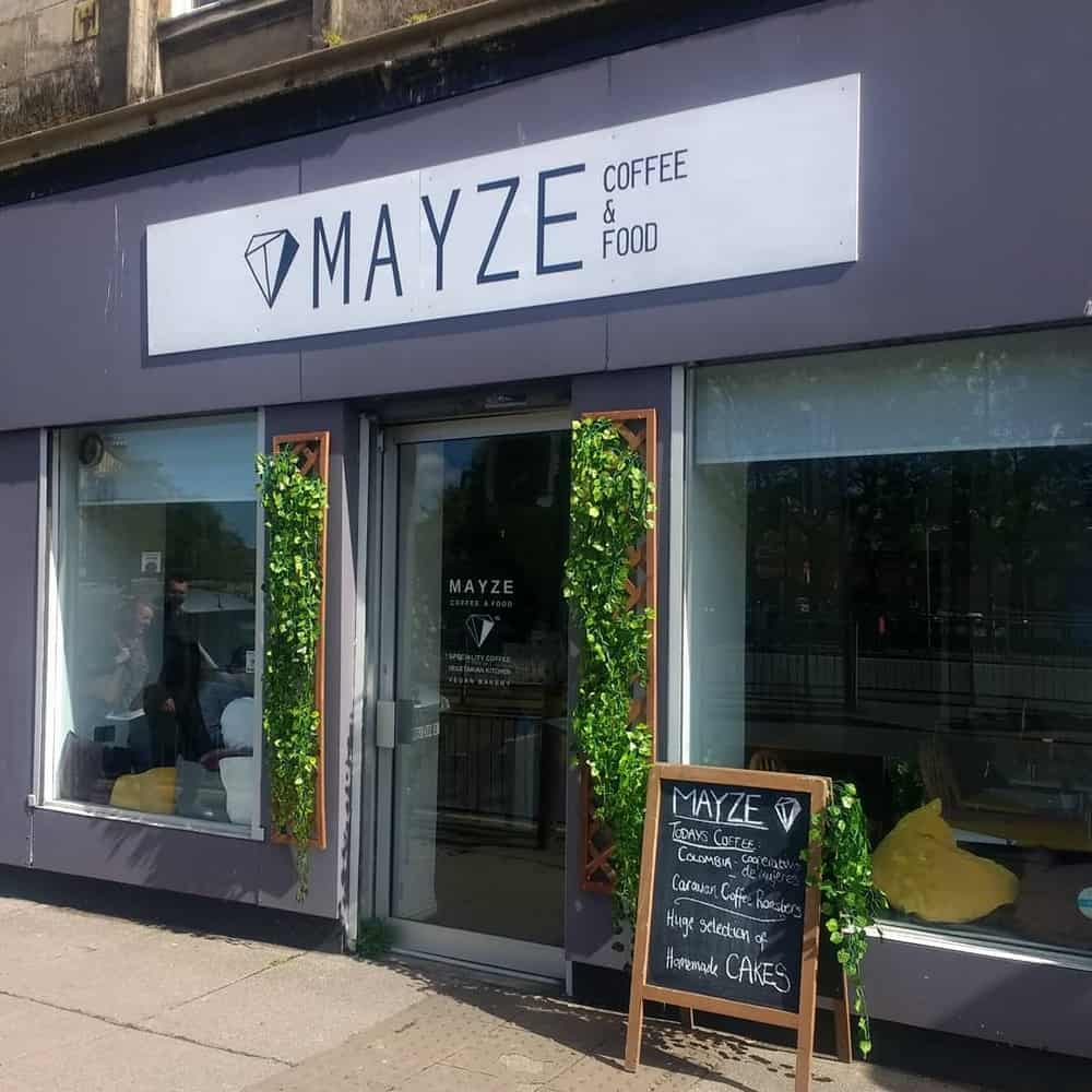 mayze restaurants in glasgow