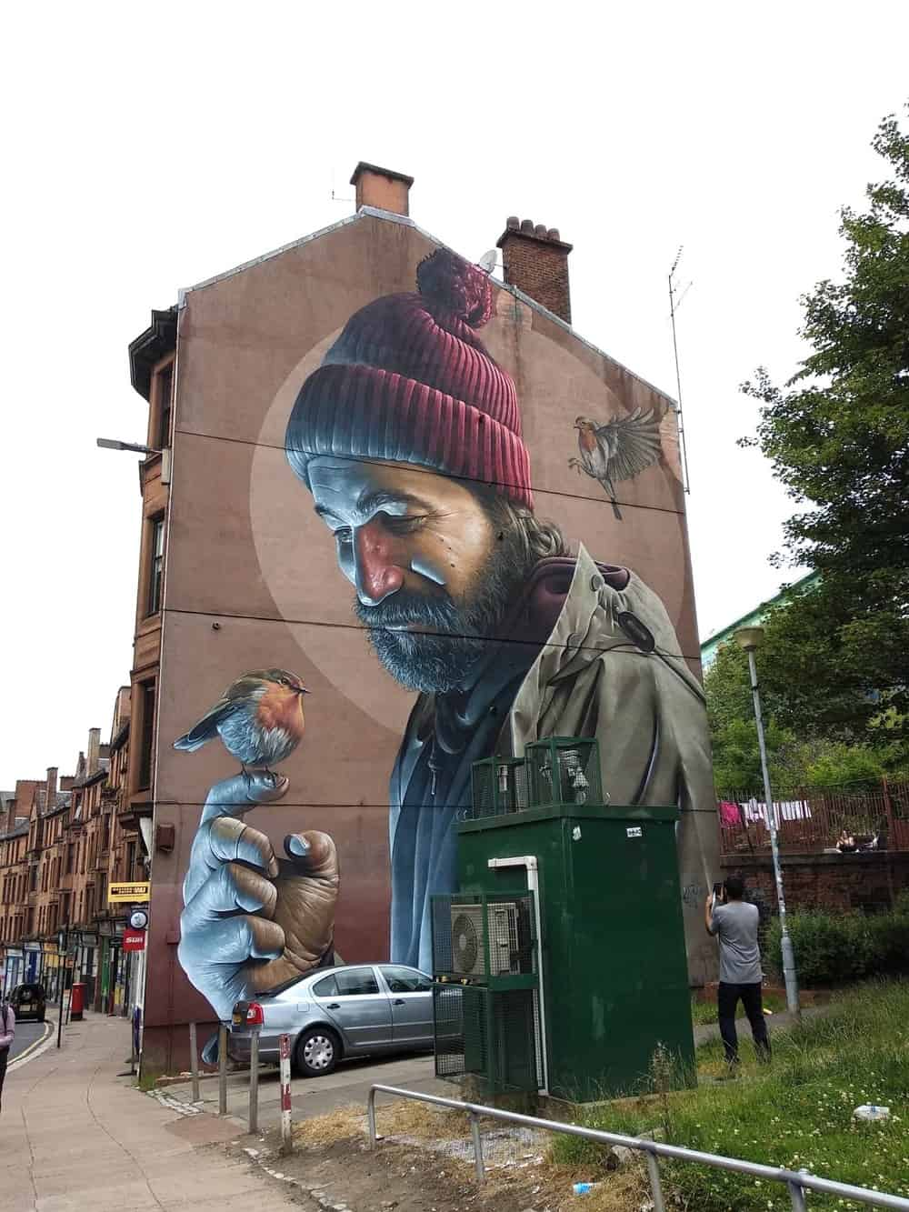 Street art in gLASGOW 2