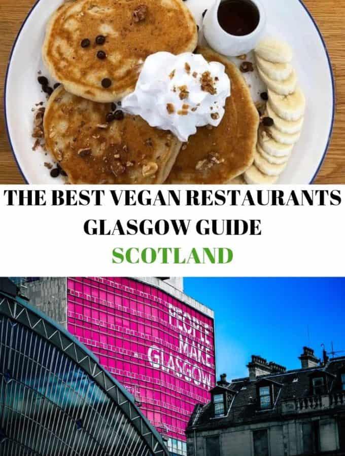 collage vegan restaurants glasgow