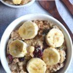 porridge in a collage