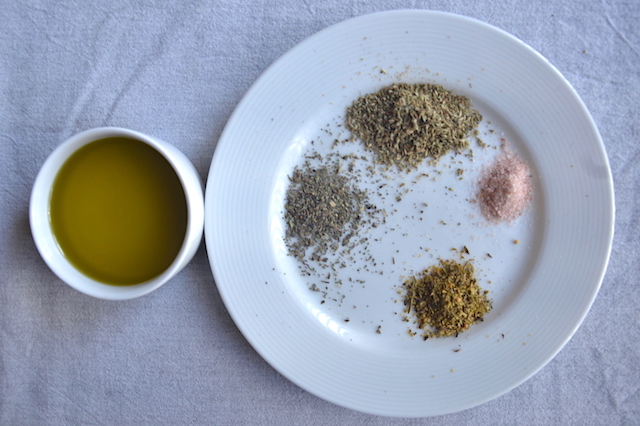 Spices and Olive oil