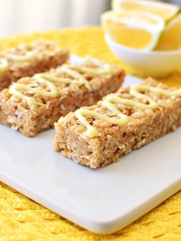 No-Bake-Lemon-Cookie-Granola-Bars-