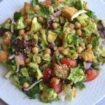 mixed avocado salad