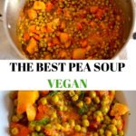 collage pea soups