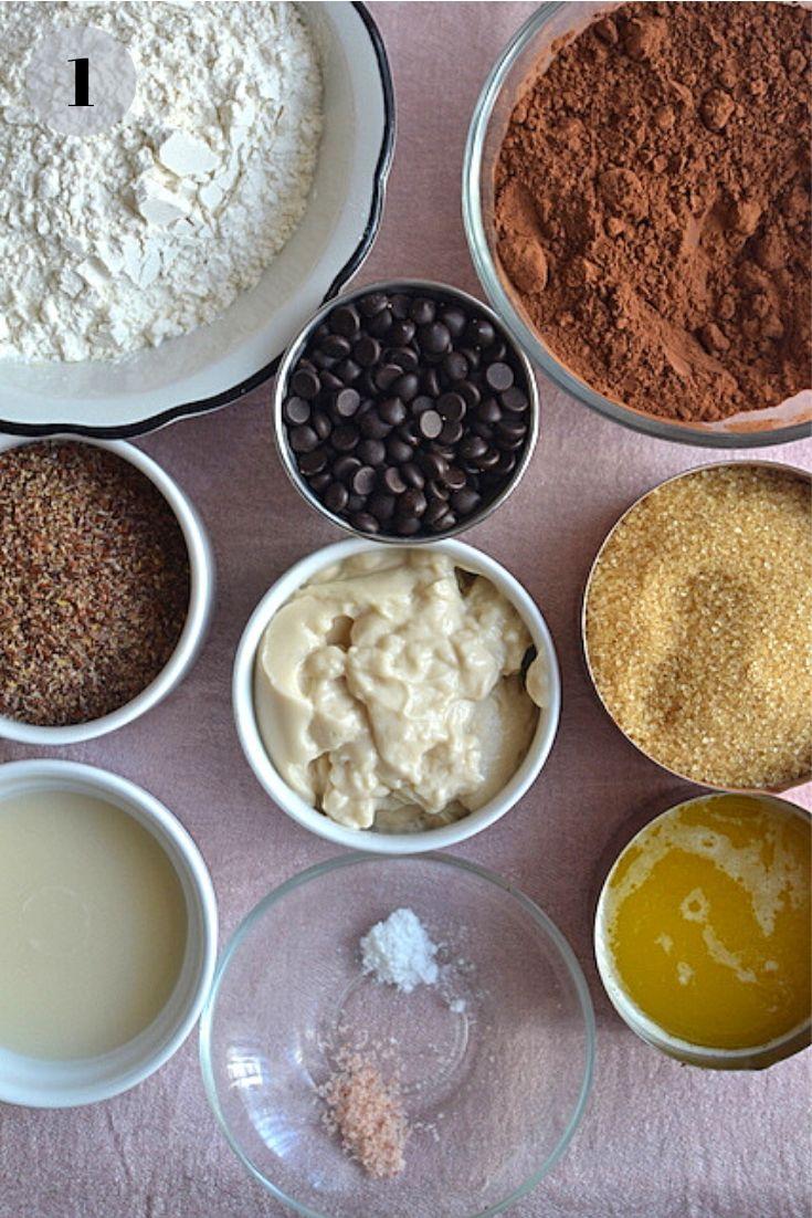 Chocolate Brownies ingredients