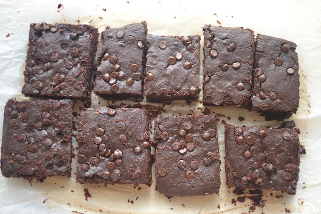 brownies slice