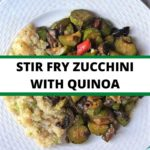 Stir Fry with Quinoa collage
