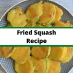 fried squash collage