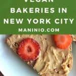 Vegan bakery collage