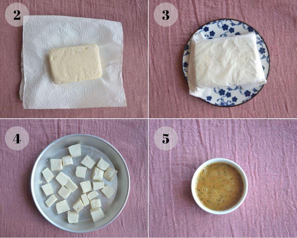 tofu collage