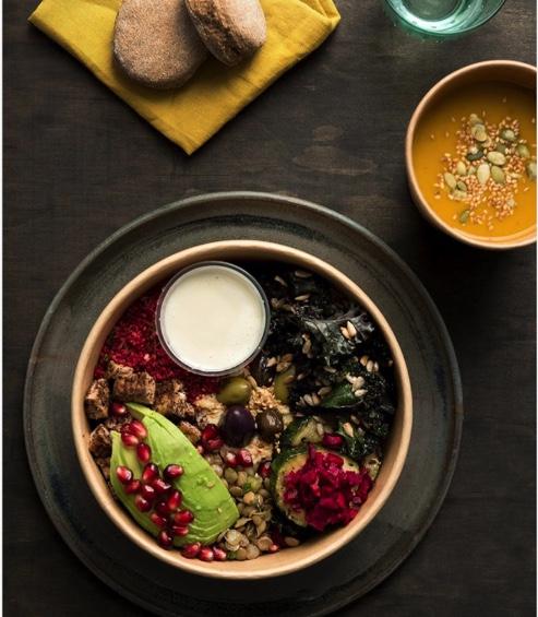 Vegan stew in Chile